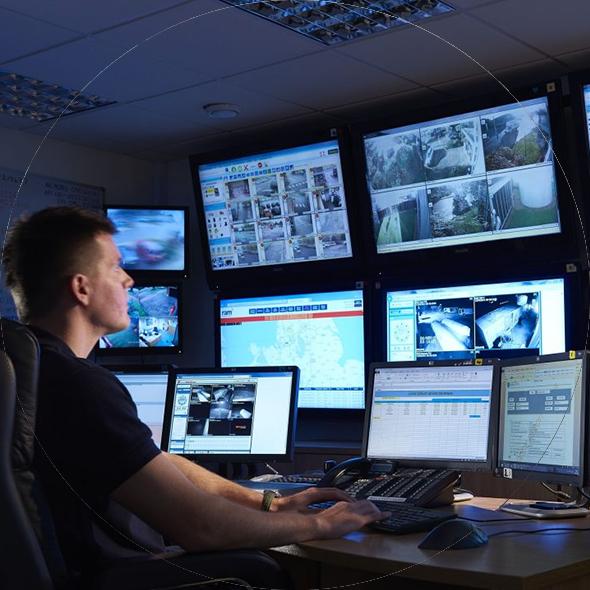 monitorizare spatii comerciale - sos security
